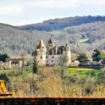 View to Chateau des Milandes