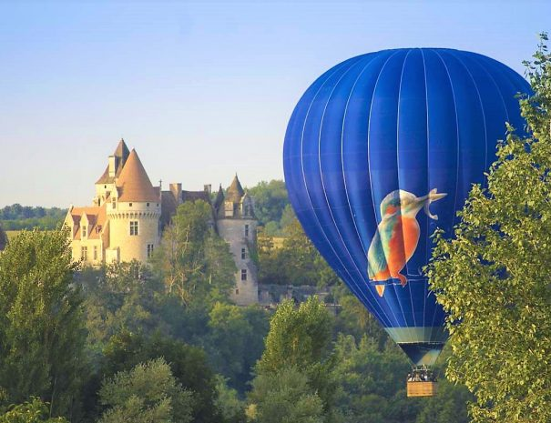 Hot Air Ballooning in the Dordogne