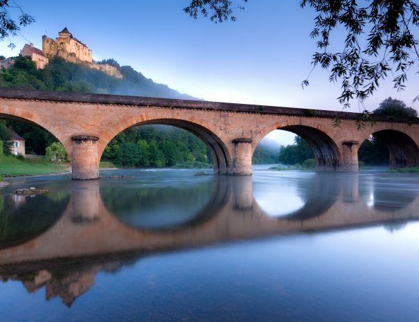 Bridge on River Dordogne